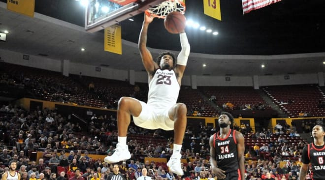 Romello White posted a team-high 19 points on 7 of 9 shooting to go alongside 14 rebounds.
