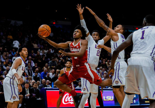 Alabama 80, LSU 65: Tide whips LSU for 2nd straight win