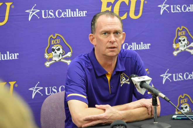 Joe Dooley returns to ECU loaded with potent assistant coaches and a promising group of players.