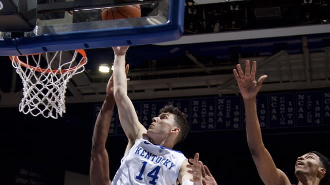 No. 8 Kentucky downs No. 9 Kansas in SEC/Big 12 Challenge