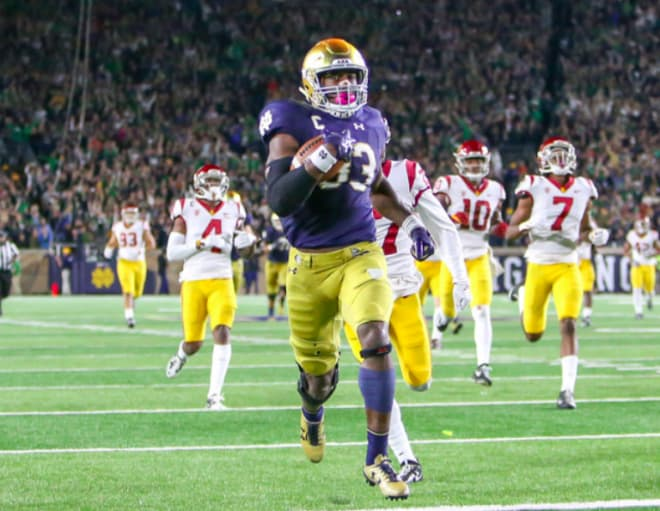 Watch insane  play Notre Dame uses to beat LSU in Citrus Bowl