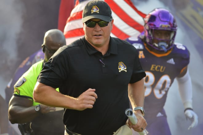ECU head coach Mike Houston addressed the press on Tuesday to recap the USF game and preview Cincinnati.