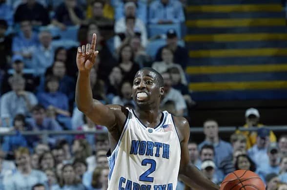 Raymond Felton's game grew each year ending with a national title & drawing big-time praise from Roy Williams.
