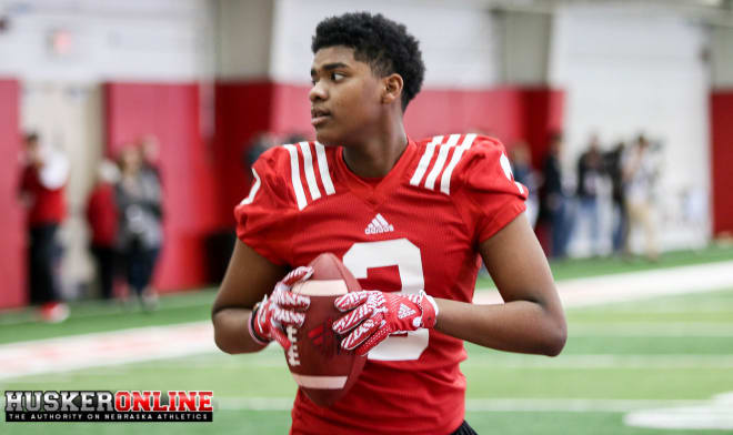 Freshman receiver Keyshawn Johnson Jr. announced he has been officially cleared to practice.