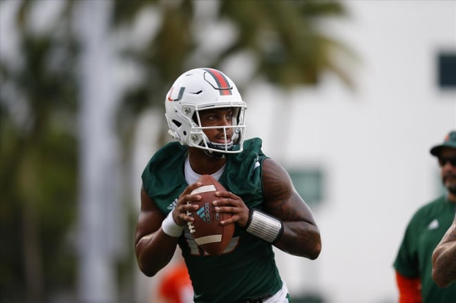 Miami Picks Jarren Williams As Starting Quarterback Over Tate Martell