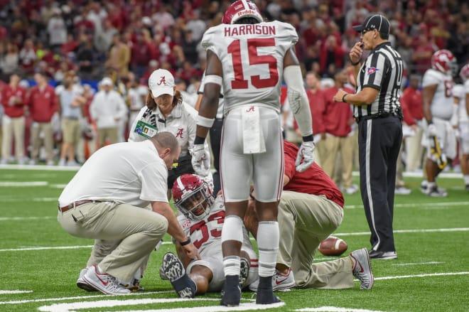 Nick Saban: LB Anfernee Jennings has sprained knee
