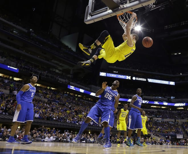 Michigan Wolverines basketball last played Kentucky in the 2014 Elite Eight.