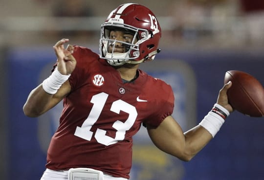 Jalen Hurts Expected to Redshirt This Season Unless Tua Tagovailoa Gets Injured