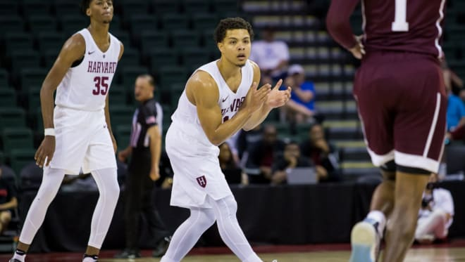 Grad transfer Bryce Aiken committed to play his final year of collegiate basketball at Seton Hall.