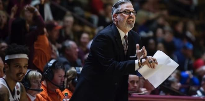 Steve Roccaforte is a veteran assistant coach who most recently was an assistant at Virginia Tech.