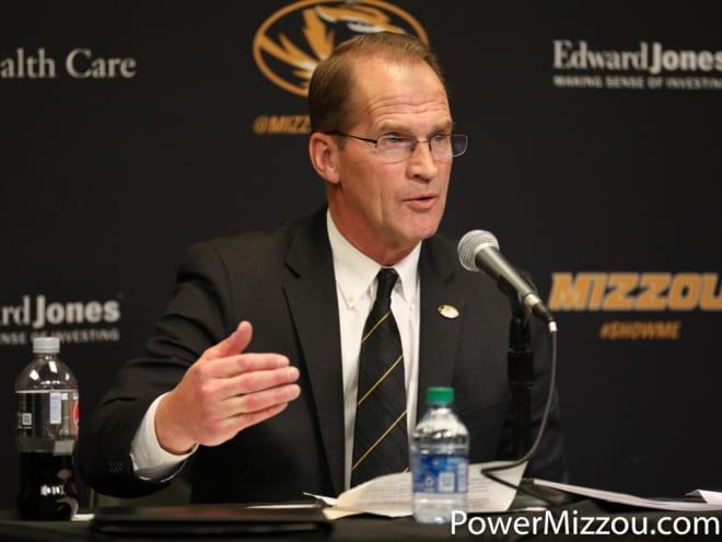 Mizzou athletics director Jim Sterk