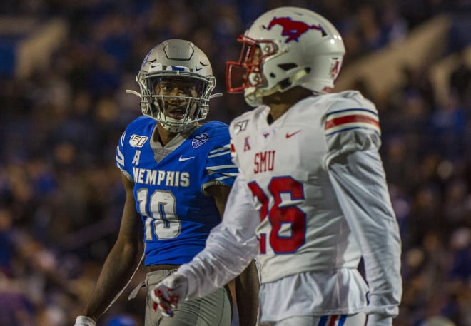 Smu Mustangs Memphis Tigers Football