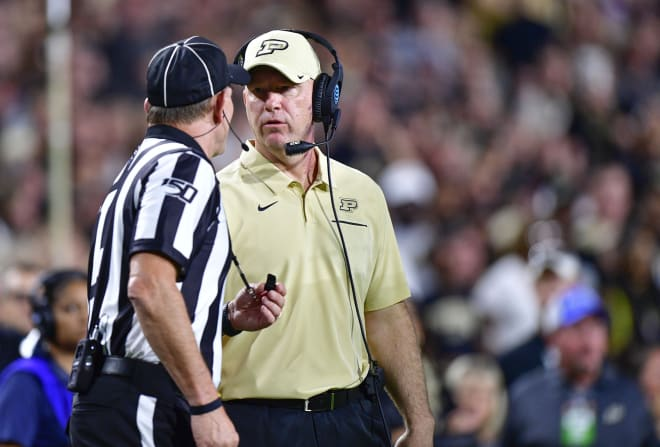 Jeff Brohm hopes a staff shake-up will help change the fortunes of his fourth Purdue squad.