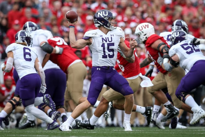 Hunter Johnson didn't live up to expectations in his first year at Northwestern.