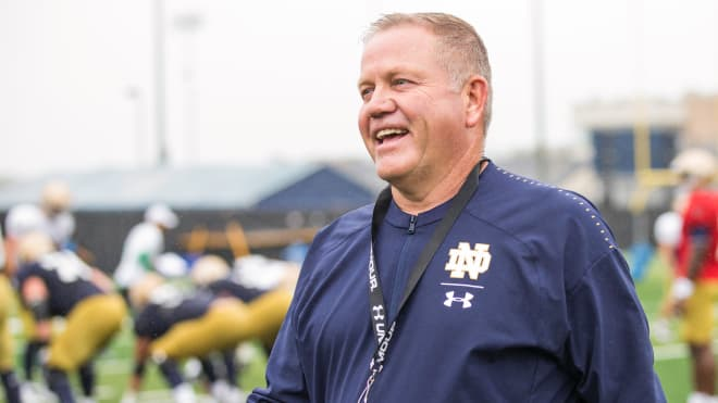 Notre Dame's 2021 recruiting class is shaping up to be special.