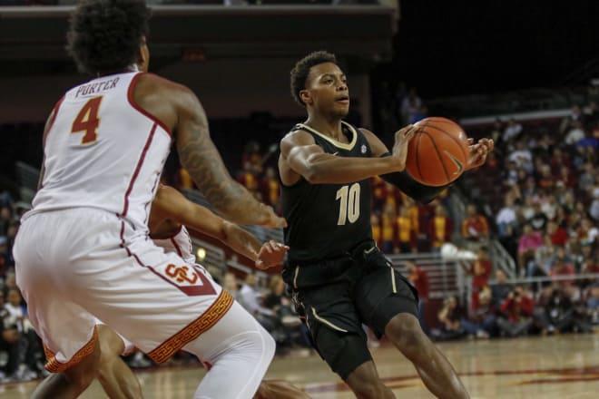 Darius Garland is enrolled at Vanderbilt for the second semester.