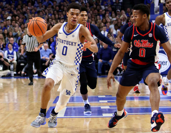 No. 23 Kentucky pulls away from Ole Miss, 96-78