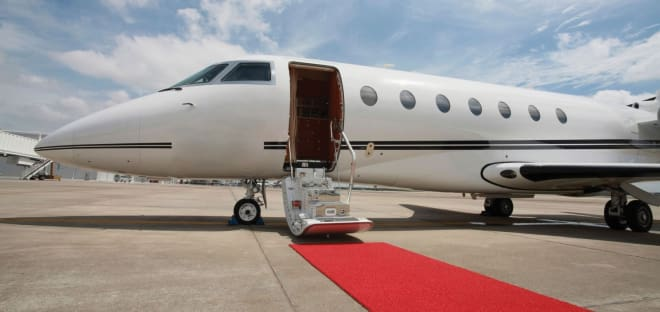 Nebraska leases all of their private aircraft through charter companies, while some schools allow generous supporters to donate jet hours for booster points or perks.