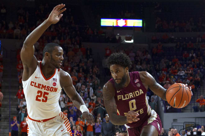 Senior forward Phil Cofer led the Seminoles in scoring on Wednesday night in Clemson.