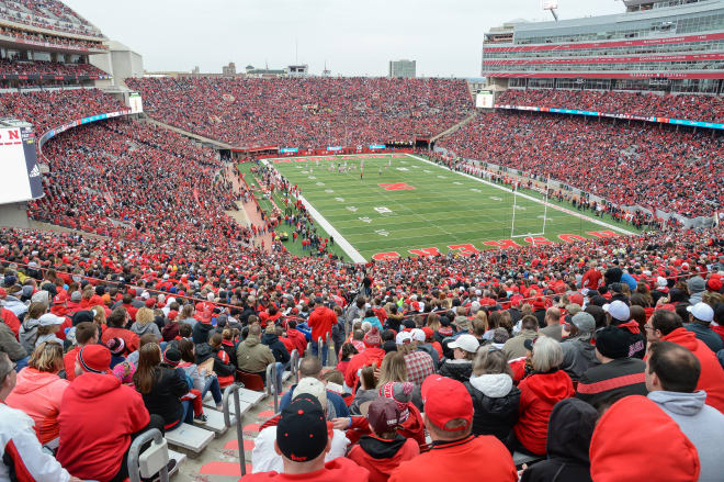 62,000 tickets had already been distributed for Nebraska's April Red-White game that has sold out the previous two years.