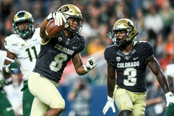 Running back Alex Fontenot had a big day for the Buffs in their opening win against Colorado State.