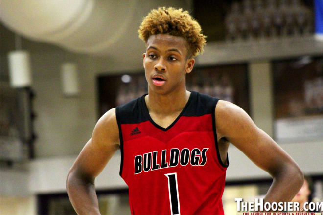 huge selection of 23641 d61ca TheHoosier - 2018 Five-Star Romeo Langford Receives ...