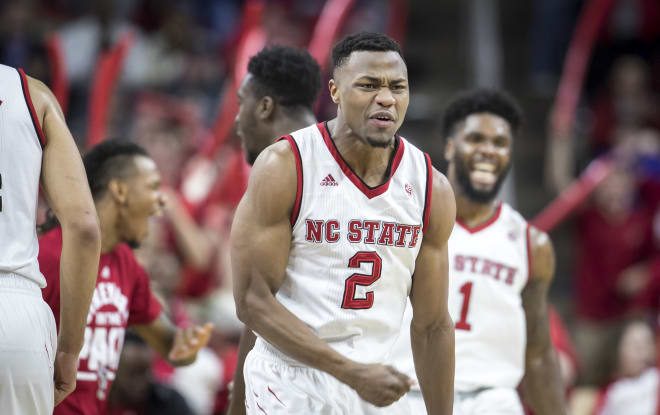 Dorn is pumped up after NC State gains momentum.
