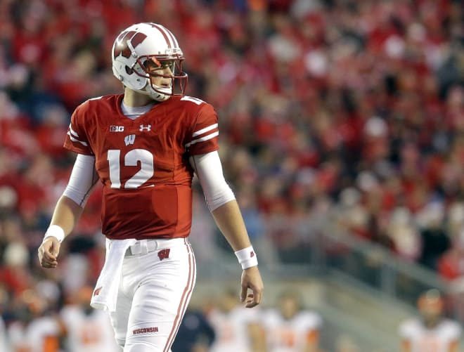 Sophomore quarterback Alex Hornibrook was named the Badgers starter at the very beginning of spring practice by Chryst.