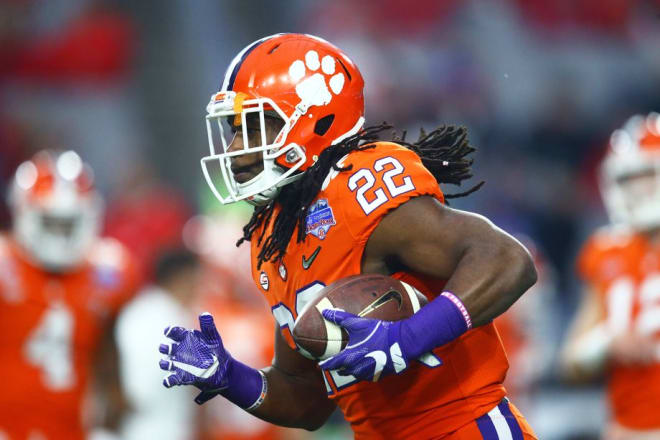 Clemson graduate transfer running back Tyshon Dye is the second Saturday addition for ECU.