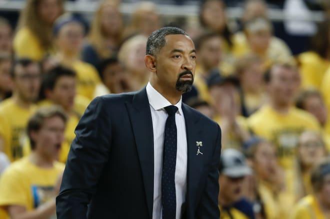 Michigan head coach Juwan Howard and his team will play Kentucky three times in the next three seasons.