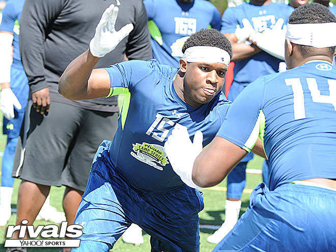 Florida checked in on four-star Aaron Sterling this week