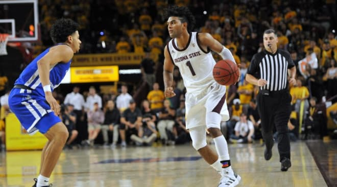 Remy Martin's career-high 33 points paced the Sun Devils in a precious road victory