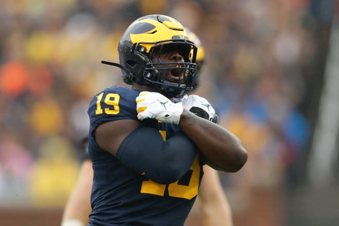 Michigan Wolverines football's Kwity Paye received significant preseason honors.