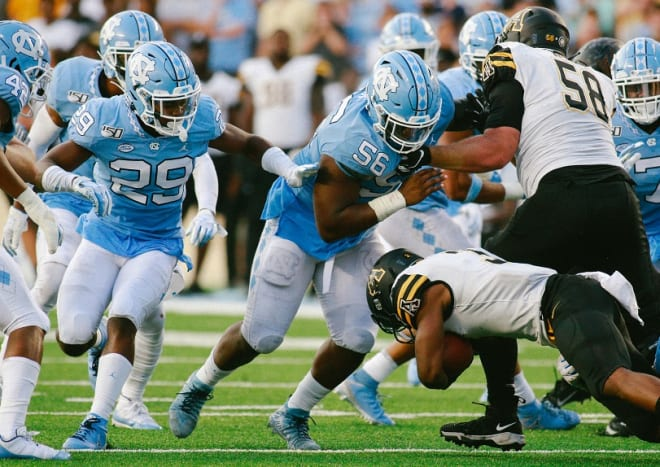 THI looks at how many games Storm Duck (29), Tomari Fox (56) and the rest of UNC's true freshmen have played.