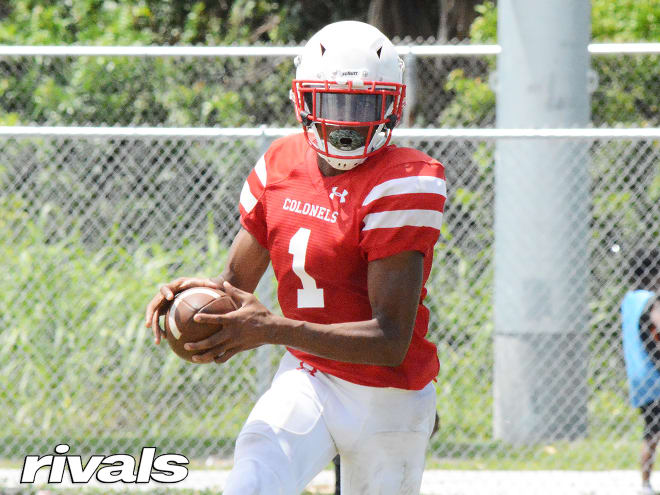 """CaneSport - Sunday commit comes from 2021 WR: """"I loved it"""" at Paradise"""