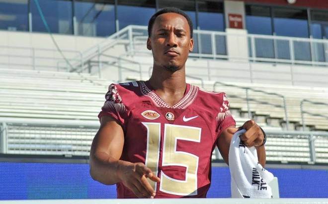 Man charged in death of Florida State football star's father
