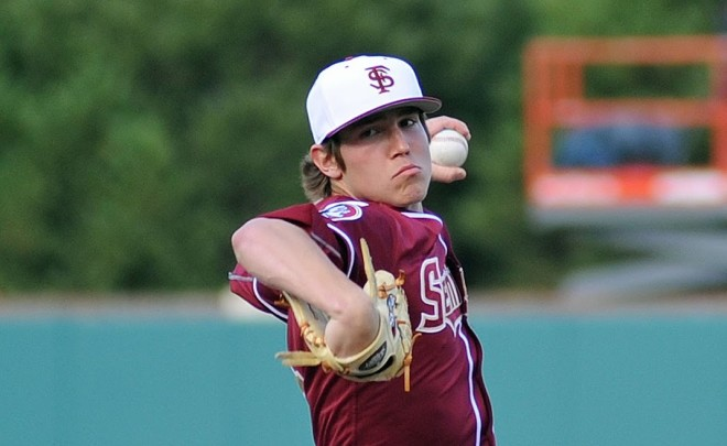 Seminoles freshman Tyler Holton's consistency has led to him earning a spot in the starting rotation.