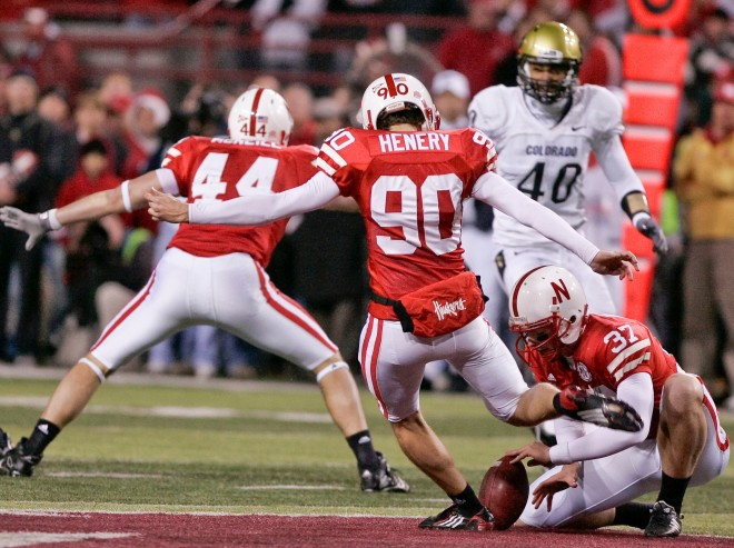 Alex Henery's 57-yard field goal in the final minutes lifted NU to the win and still stands as the longest kick in school history.