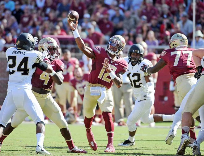 FSU's Deondre Francois suffers late leg injury vs Alabama; severity unknown