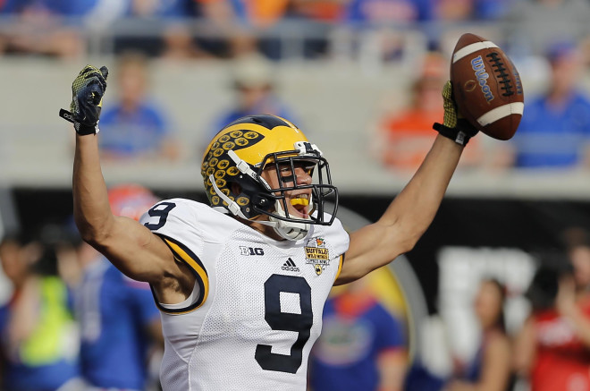 Michigan WR Grant Perry Reinstated After Sexual Conduct Charges Dropped
