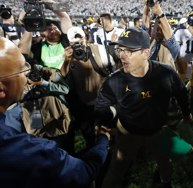Michigan State up, Michigan down or out in college football polls