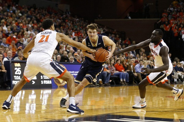 Virginia holds Notre Dame to season-low 54 points
