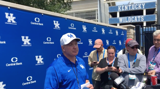 Versatile wide receiver Bowden cleared to begin practicing with Kentucky