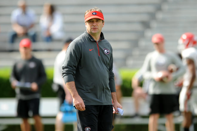 Kirby Smart says he needs a lot more size on his defensive line.