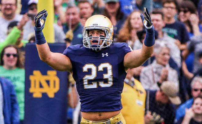 Drue Tranquill an early story for Notre Dame