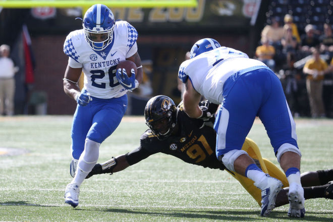 Missouri quarterback Drew Lock has impressive game in loss to Kentucky