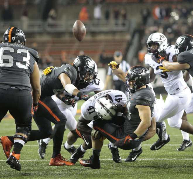 Falk, Cougars steamroll Oregon State