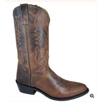 eed72155c77 Smoky Mountain Men s Brown Denver Round Toe Cowboy Boots 4435