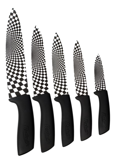 Black Ceramic Kitchen Knives