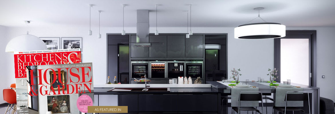 The Rocknife Kitchen featured in House and Garden